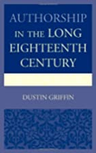 Authorship in the Long Eighteenth Century by…