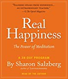 Salzberg, Sharon: Real Happiness: The Power of Meditation: A 28-Day Program