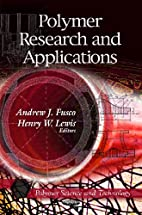 Polymers Research and Applications (Polymer…