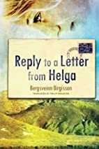 Reply to a Letter from Helga by Bergsveinn…