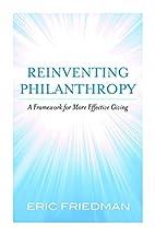 Reinventing philanthropy : a framework for…