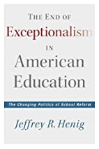 The End of Exceptionalism in American…