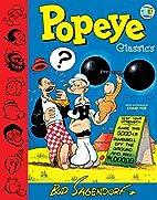 Popeye Classics Volume 1 by Bud Sagendorf