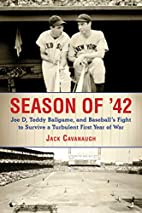 Season of '42: Joe D., Teddy Ballgame,…