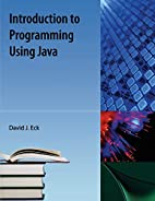 Introduction to Programming Using Java by…