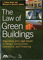 The Law of Green Buildings: Regulatory and…