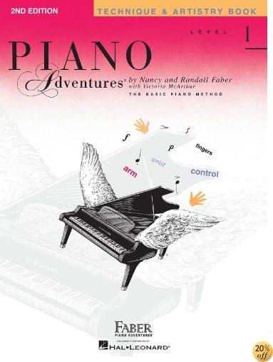 TLevel 1 - Technique & Artistry Book: Piano Adventures
