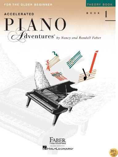 TAccelerated Piano Adventures for the Older Beginner: Theory Book 1