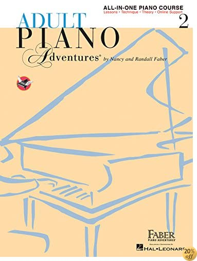 TAdult Piano Adventures All-in-One Lesson Book 2: Book/Online Audio