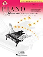 Piano Adventures: Level 1 Gold Star…