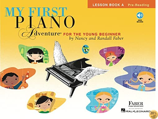 TMy First Piano Adventure: Lesson Book A with CD