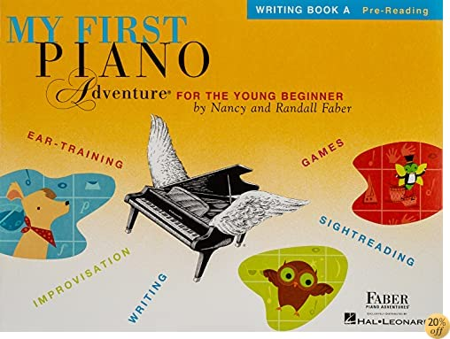 TMy First Piano Adventure: Writing Book A