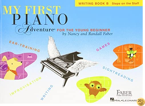 TMy First Piano Adventure: Writing Book B
