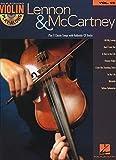 Lennon, John: Lennon & Mccartney Violin Play-Along Volume 19 (Bk/Cd)