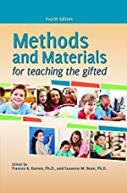 Methods and Materials for Teaching the…