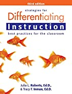 Strategies for Differentiating Instruction:…
