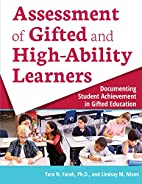 Assessment of Gifted and High-Ability…