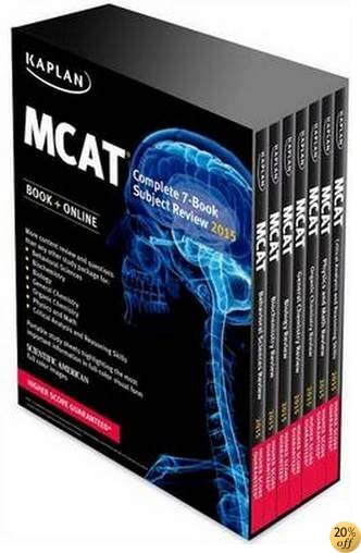 TKaplan MCAT Complete 7-Book Subject Review: Created for MCAT 2015 (Kaplan Test Prep)