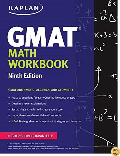 TKaplan GMAT Math Workbook (Kaplan Test Prep)