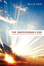 The Indescribable God: Divine Otherness in…