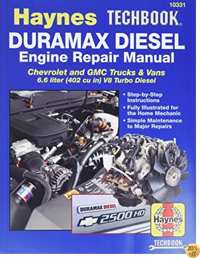 TDuramax Diesel Engine Repair Manual (Haynes Techbook)