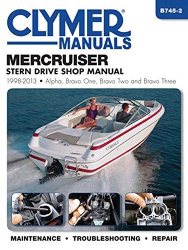 mercruiser-stern-drive-shop-manual-1998-2013-alpha-bravo-one-bravo-two-and-brave-three-clymer-manuals