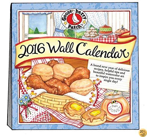 T2016 Gooseberry Patch Wall Calendar (Gooseberry Patch Calendars)