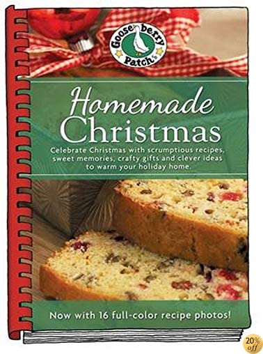 THomemade Christmas Cookbook with Photos