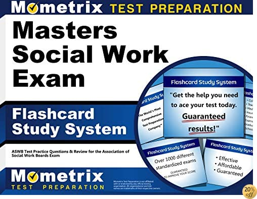 TMasters Social Work Exam Flashcard Study System: ASWB Test Practice Questions & Review for the Association of Social Work Boards Exam (Cards)