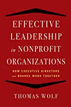 Effective leadership for nonprofit…