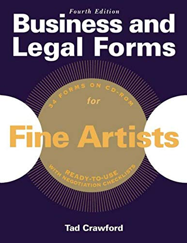 business-and-legal-forms-for-fine-artists-business-and-legal-forms-series