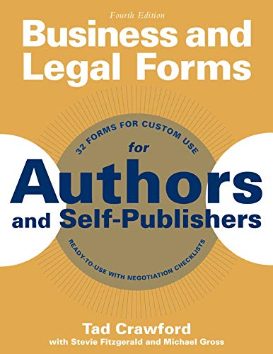 business-and-legal-forms-for-authors-and-self-publishers-business-and-legal-forms-series
