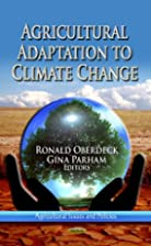 AGRICULTURE ADAPTATION TO CLIMATE CHANGE .…