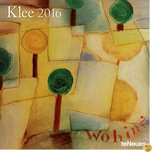 T2016 Paul Klee Wall Calendar