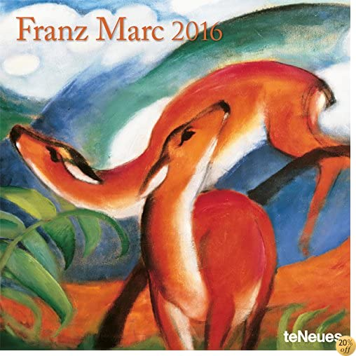 T2016 Franz Marc Wall Calendar