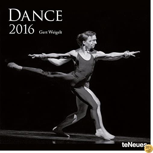 T2016 Dance Wall Calendar