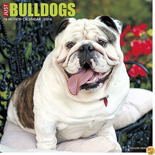 T2016 Just Bulldogs Wall Calendar