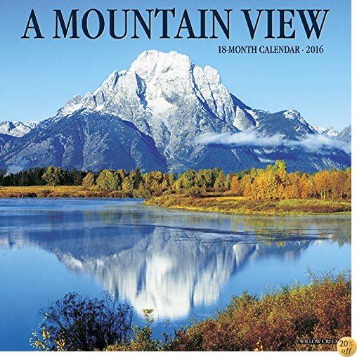 T2016 Mountain View Wall Calendar