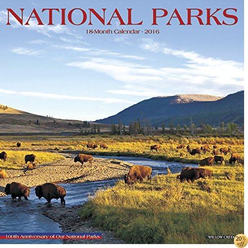 T2016 National Parks Wall Calendar