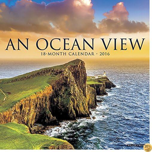 T2016 Ocean View Wall Calendar