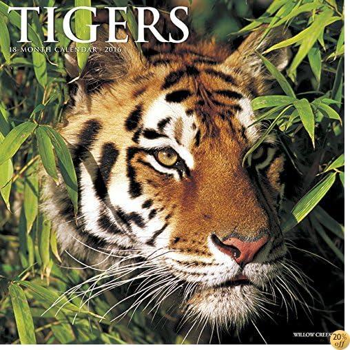 T2016 Tigers Wall Calendar