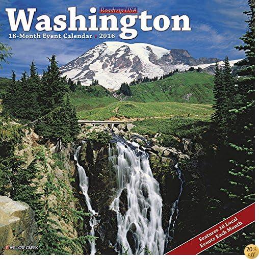 T2016 Washington Wall Calendar