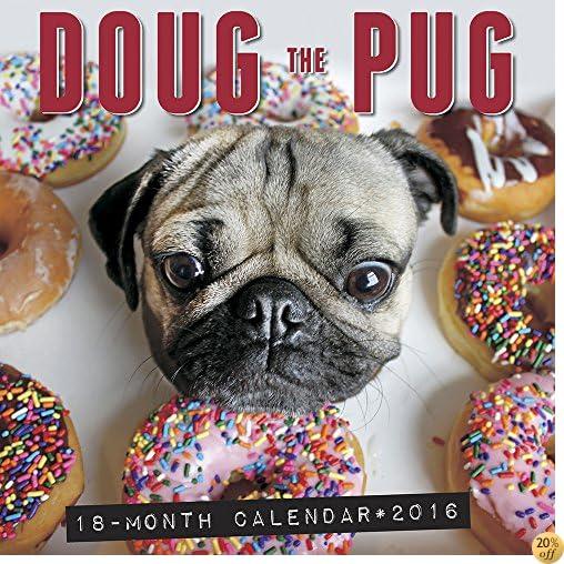 TDoug the Pug 2016 Wall Calendar