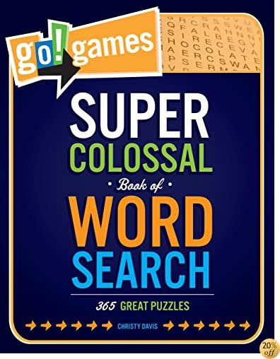 TGo!Games Super Colossal Book of Word Search: 365 Great Puzzles