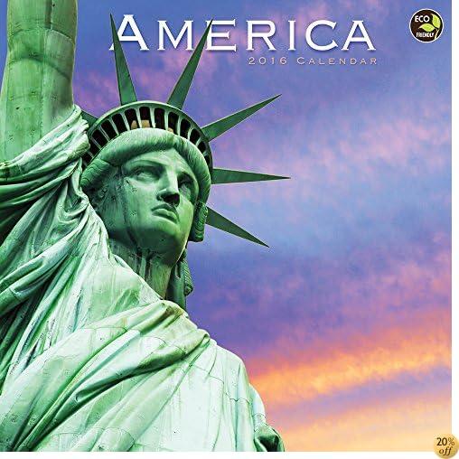 T2016 America Wall Calendar