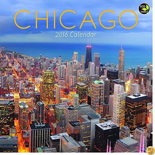 T2016 Chicago Wall Calendar