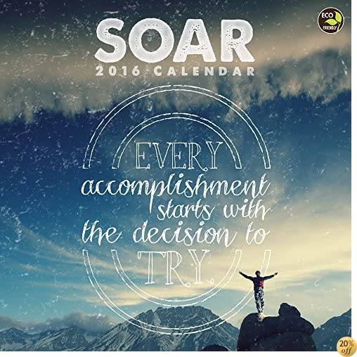 T2016 Soar Wall Calendar