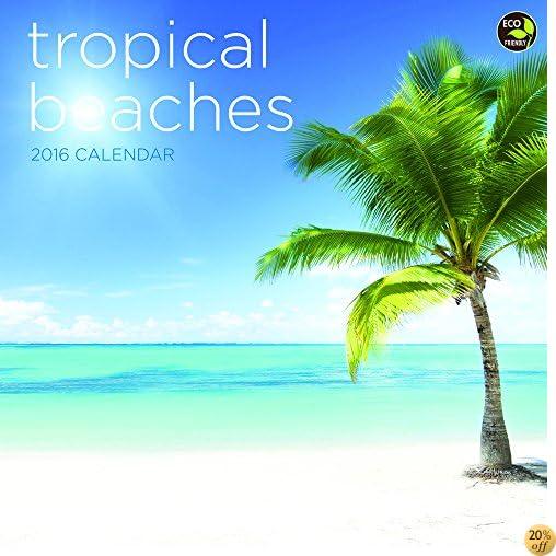 2016 Tropical Beaches Wall Calendar