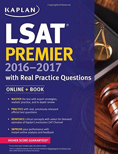 kaplan-lsat-premier-2016-2017-with-real-practice-questions-book-online-kaplan-test-prep