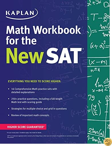 TKaplan Math Workbook for the New SAT (Kaplan Test Prep)